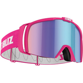 Bliz Nova Goggles, matt pink/brown-blue multi